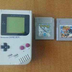Gameboy classic + games