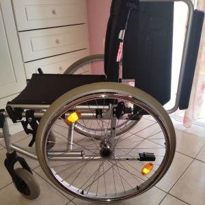 Αναπηρικο αμαξιδιο αλουμινιου πτυσσομενο
