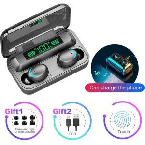 25Ε Ακουστικά ασύρματα με ηλεκτρονικη ένδειξη μπαταρίας