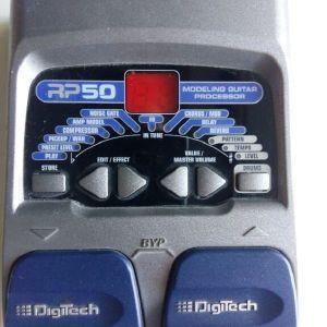 Πεταλιέρα κιθάρας Digitech RP 50