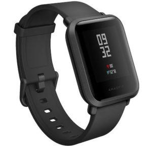 Smartwatch Amazfit bip 39mm Μαύρο (ελαφρός μεταχειρισμένο)