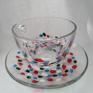 tea cups handpainted