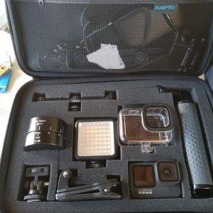 Πωλείται η θήκη βαλιτσακι συμβατό με όλες τις GoPro και αξεσουάρ