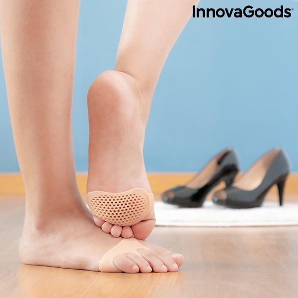 metatarsika maxilarakia apo tzel silikonis SilStep InnovaGoods (paketo me 2)