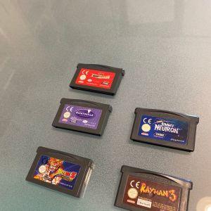 Διαφορα Παιχνιδια για Gameboy Advance (10€ το καθε ενα)