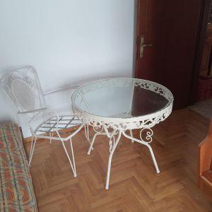 Τραπεζαρία Φερ Φορζέ με 4 καρέκλες