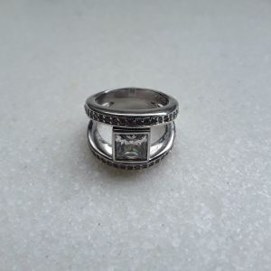Ασημενιο δαχτυλιδι