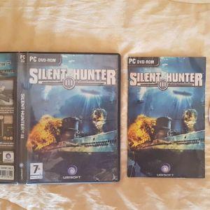 Πωλούνται τα Warcraft III & Silent Hunter III για PC