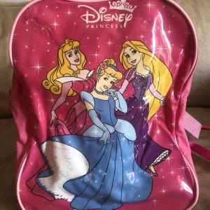 σακίδιο πλάτης παιδικό πριγκίπισσες Disney σετ με τσαντάκι θερμός φαγητού