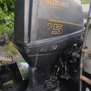 suzuki dt75 για ανταλλακτικά με χαρτιά