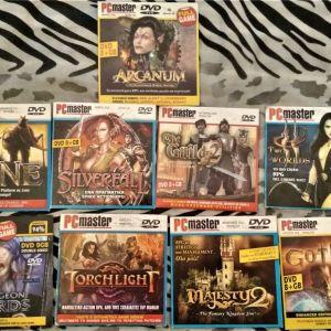 Πωλούνται 9 RPG παιχνίδια για PC (μαζί)