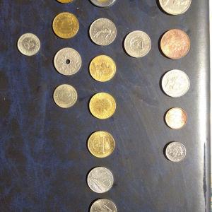 λοτ νομισμάτων Αγγλία Ιταλία και διάφορα ξένα