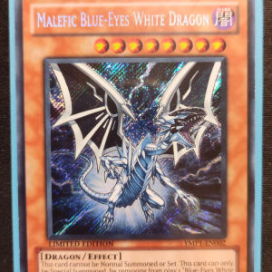 Malefic Blue Eyes White Dragon Secret Rare