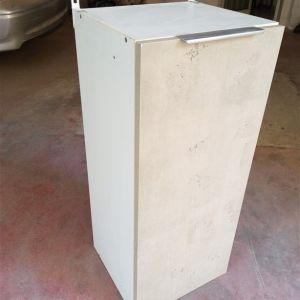 Ντουλάπι μοντέρνο μονόφυλλο ξύλινο απομίμηση μαρμάρου