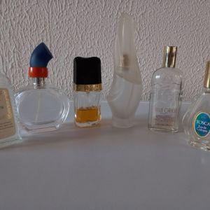 Διάφορα μπουκαλια αρωμάτων vintage και μινιατουρες αρωματα