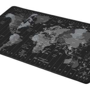Natec Gaming Mousepad World Map Time Zone 800mm
