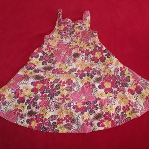 Φόρεμα φλοραλ Mothercare (6-9 μηνών)