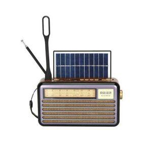 Ηλιακό Επαναφορτιζόμενο Bluetooth Ηχείο - Ραδιόφωνο LED