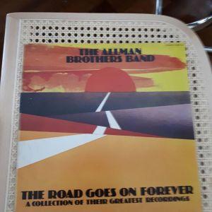 διπλός δισκος βινυλιου THE ALLMAN BROTHERS BAND    THE ROAD GOES ON FOREVER