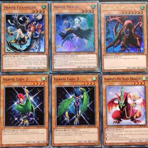 Harpie Lady set 10 cards