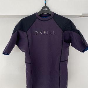 ONeill hyperfreak 0.5mm neoprene/skins short sleeve top Size - L