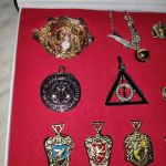 Συλλεκτικη Κασετινα Εμβληματων Harry Potter