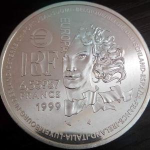 France 6.55957 francs, 1999