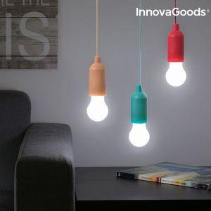 Φορητή λάμπα LED με κορδόνι InnovaGoods