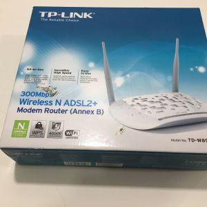RUTER TP-LINK TD-W8961NB ISDN