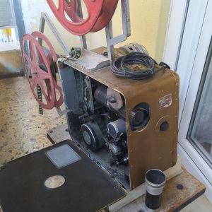 παλιά Μηχανή προβολής κινηματογράφου