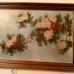 Πίνακας με θέμα λουλούδια