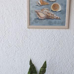 ζωγραφική στο χέρι σε ύφασμα