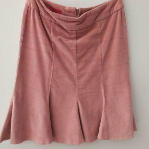 Κοτλέ φούστα