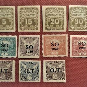 Γραμματόσημα Ceskoslovenska
