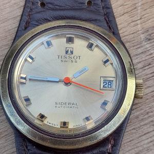 παλιό ανδρικό αυτόματο ρολόι Tissot