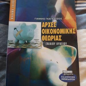 Αρχές Οικονομικής Θεωρίας Γ Λυκείου, Γιάννης Γκαγκάτσιος, εκδόσεις ελληνικά γράμματα