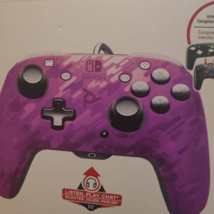 PDP Faceoff Deluxe+ Purple Camo