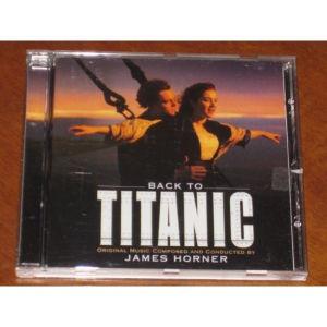 Titanic Soundtrack CD James Horner Β