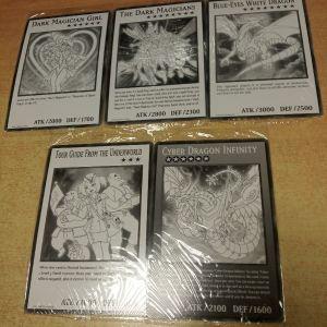 Oversized Yu-Gi-Oh! Κάρτες