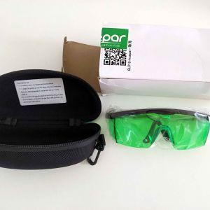 Γνήσια Γυαλιά Βελτίωσης Ορατότητας Πράσινης Δέσμης Laser υψηλής ποιότητας της HUEPAR