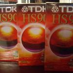 ΒΙΝΤΕΟΚΑΣΕΤΕΣ σφραγισμενες TDK  HS 90