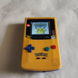 Nintendo Game Boy Color Pokemon Edition with IPS LCD Screen