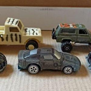 5 αυτοκινητάκια  vintage δεκαετίας '90