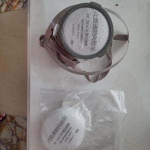 Πλήρης μάσκα αερίου αναπνευστικής μάσκας προσώπου φίλτρο προστατευτική σκόνη μάσκα προσώπου για ψεκασμό χρωμάτων