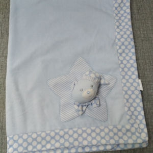 κουβέρτα σιελ με απαλή υφή 100*75cm