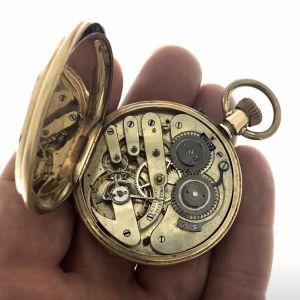 Ρολόι τσέπης χρυσό Masterpiece