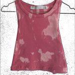 crop tie dye T-shirt
