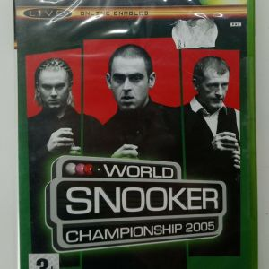 WORLD SNOOKER CHAMPIONSHIP 2005 XBOX VIDEO GAME EUROPEAN PAL SEALED NEW