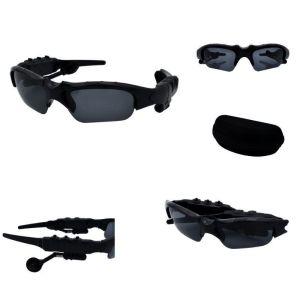 Γυαλιά Ηλίου Ακουστικά Bluetooth Handsfree 2 σε 1 Μαύρο