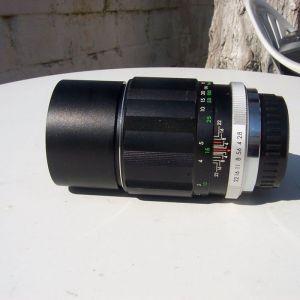 ΦΑΚΟΣ SOLIGOR MADE IN JAPAN 1:2,8 f=135 mm ΓΙΑ ΡΕΝΤΑΧ ΣΑΝ ΚΕΝΟΥΡΓΙΟΣ